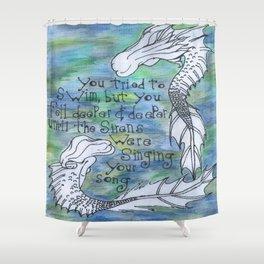 Siren Song Shower Curtain