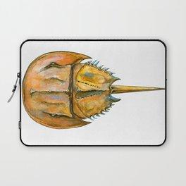 Brown Horseshoe Crab Laptop Sleeve