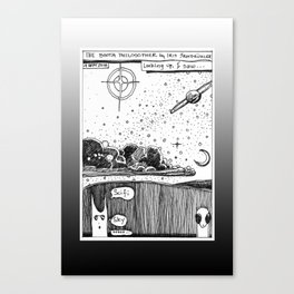 Sci Fi Sky / 2016: The Booth Philosopher Series Canvas Print