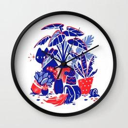 Horticulture Horror Wall Clock