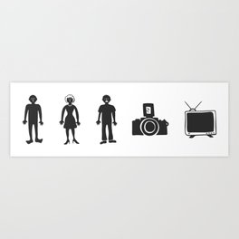 Cognitive Test - Person Woman Man - Coffee Cup Art Print