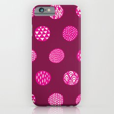 Patterned Dots iPhone 6s Slim Case