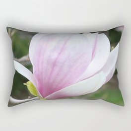 Soft Magnolia Days Rectangular Pillow