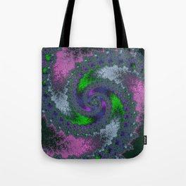 Fractal Twist Tote Bag