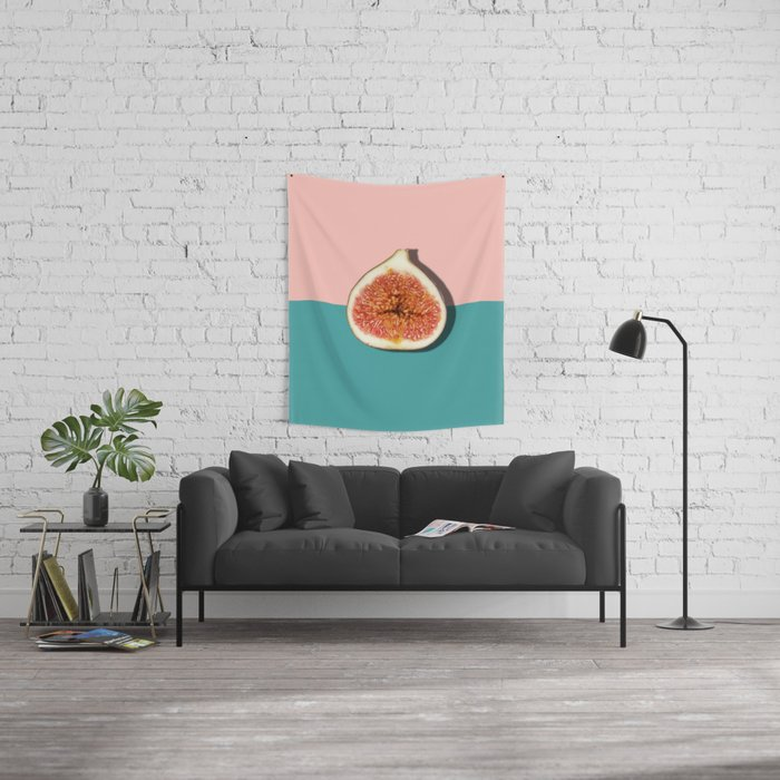 Half Slice Fruit Wall Tapestry