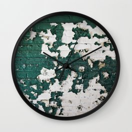 In Green Wall Clock