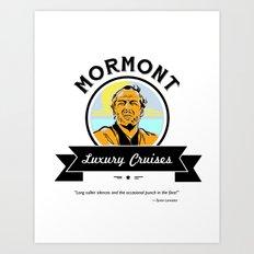 Mormont Luxury Cruises Art Print