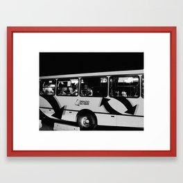 Fortaleza City, Brazil Framed Art Print