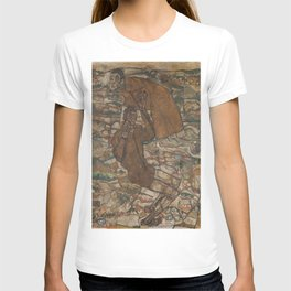Egon Schiele - Levitation (The Blind II) T-shirt