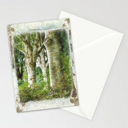 Standing Strong - Autumn Art Stationery Cards