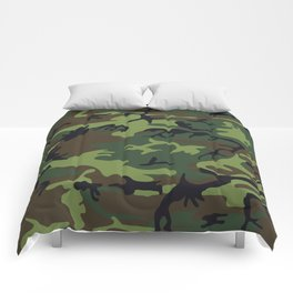 Army Camouflage Comforters