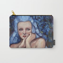 The Powdered Blue Wig by Kim Marshall Carry-All Pouch