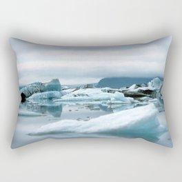 Ice Antartica Rectangular Pillow