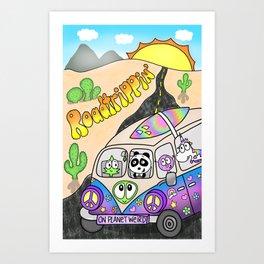 Roadtrippin' Art Print