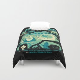 Legends from the Land of Ooo Duvet Cover