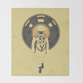 DJ HAL 9000 Throw Blanket