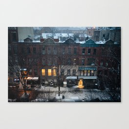 Harlem Winter Canvas Print