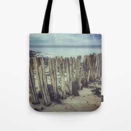 Walrus teeth still standing Tote Bag