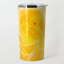 A Touch of Yellow #Rose #1 #art #society6 Travel Mug