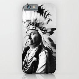 Vintage Chief Joseph Native American iPhone Case