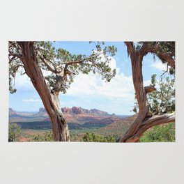 Arizona Horizon - Sedona Red Rocks Rug