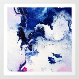 Riveting Abstract Watercolor Painting Art Print