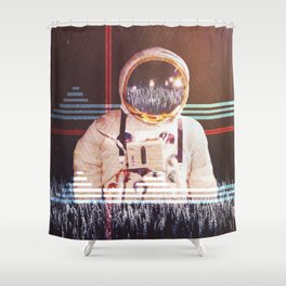 The intrepid Shower Curtain