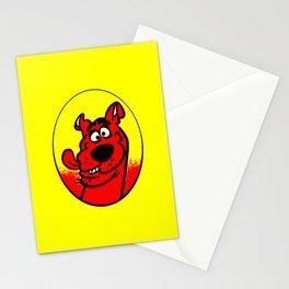 dog scooby Stationery Cards