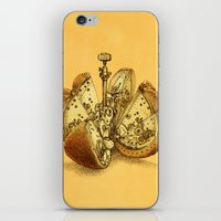 clockwork orange iPhone & iPod Skins featuring Steampunk Orange by Eric Fan