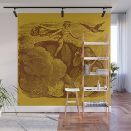 The Occult Golden Elephant Wall Mural