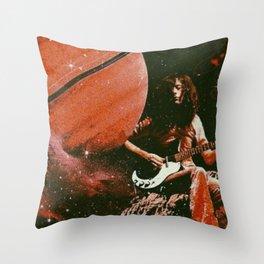 Jimmy & Saturn Throw Pillow