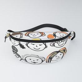 Sister hood - women internacional day Fanny Pack