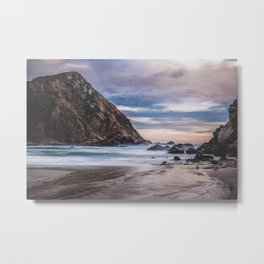 The Ocean Stirs The Heart Metal Print