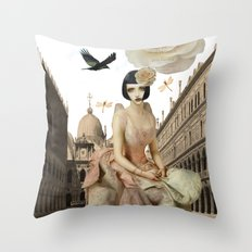 Pretty imagination Throw Pillow