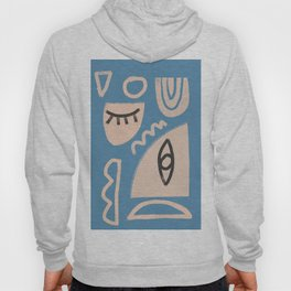 Abstrac Line Shapes 11 Hoody
