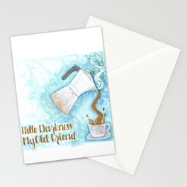 Hello darkness, my old friend Stationery Cards