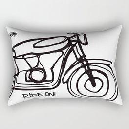 Ride On! Rectangular Pillow