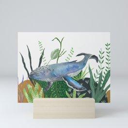 Ocean Jungle  Mini Art Print