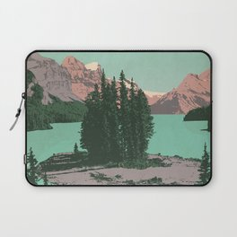 Jasper National Park Poster Laptop Sleeve