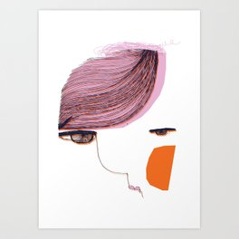 Nuda_2 Art Print