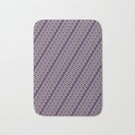 Purple drops Bath Mat