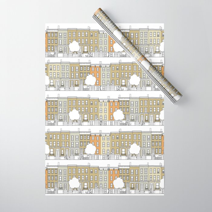 Brooklyn (color) Wrapping Paper