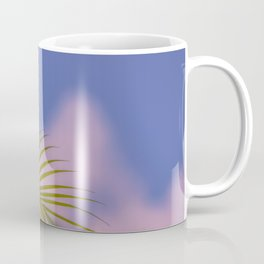 Palm tree leaves Coffee Mug