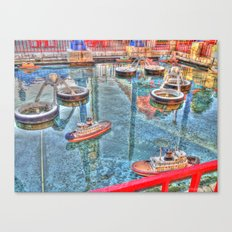 Mini Boat Race Canvas Print