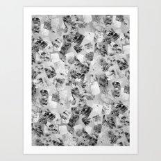 tear down variant (monochrome series) Art Print