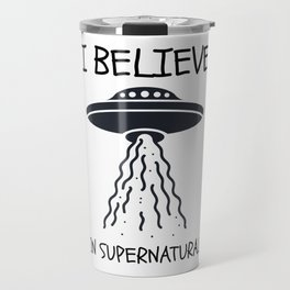 I believe in Supernatural Travel Mug