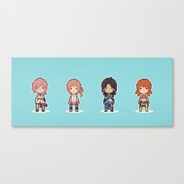 16-bit Final Fantasy XIII Canvas Print