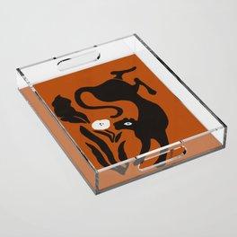 Panther Diem Acrylic Tray