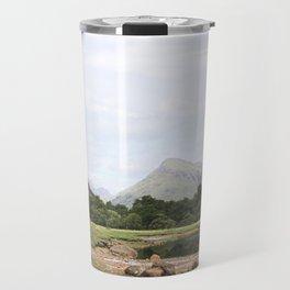 Here is realization - Glen Etive, Scotland Travel Mug
