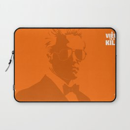 A View To A Kill Laptop Sleeve